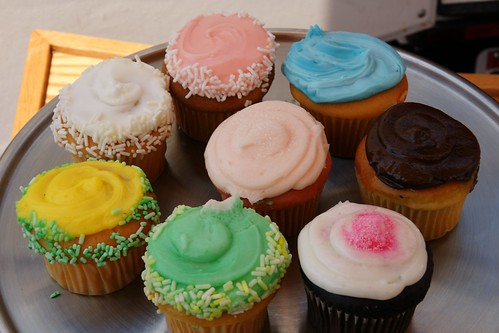 Cupcakes from Perfect Cupcakes, c/o Bmoresweet
