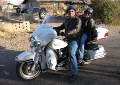 Uncle Mike and Jessie (simbajak) Tags: camp verde classic ride harley motorcycle davidson ultra simbajak childmotorcyclepool harleyownersgrouppool