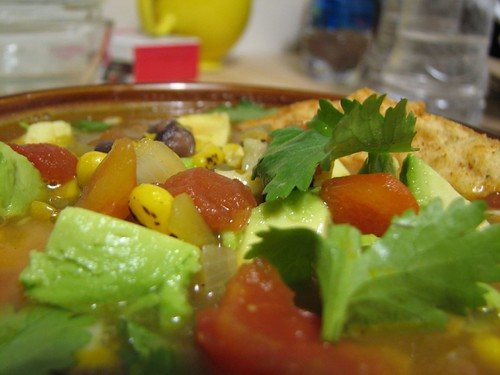 tortilla soup - closeup 2