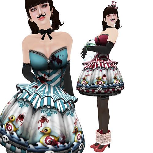 katat0nik Duck Shoot Dress