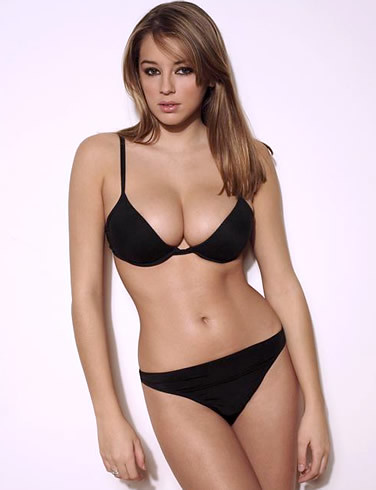 Keeley Hazell in sexy bikini