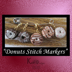Donuts Crochet Stitch Markers
