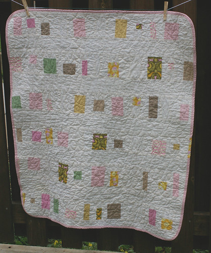 Girl Quilt Front by you.