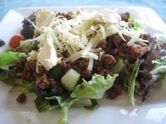 Dinner - TVP Taco Salad