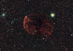 IC 443 a supernova remnant (Steve's Astrophotography) Tags: jellyfish nebula astrophotography supernova gemini remnant ic443