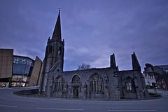 Charles Cross Church (Lantographer) Tags: 20d church canon eos wwii plymouth devon ww2 canoneos eos20d secondworldwar charlescrosschurch