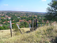 view of a bulgarian village
