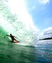 Best wave to surfing at Bali Beach