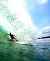 Best wave to surfing at Bali Beach