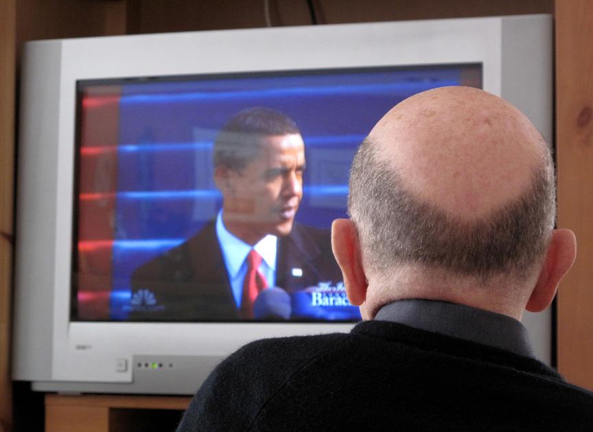 inauguration w/ my dad