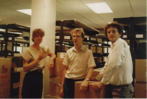 Sue Milne Philip Keane Stephen Barnett 1985