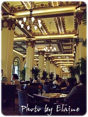 華麗的半島酒店大廳