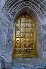 The Tower's Great Brass Door