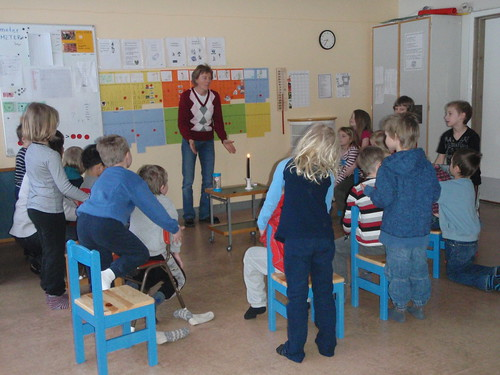 Massage in Preschool class in Sandviken