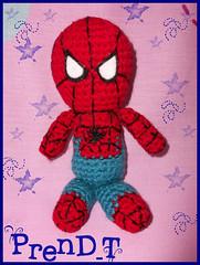 Amigurumi Spiderin (PrenD-T) Tags: cute crochet spiderman kawaii amigurumi manualidades tejido prendt