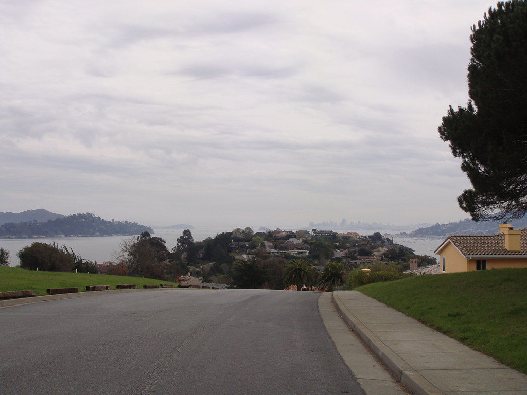View from top of hill off seminary drive