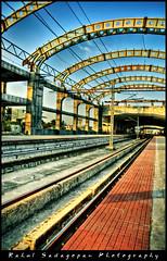 MRT (Rahul Sadagopan) Tags: india station train nikon track platform rail railway 1870mmf3545g mrt chennai hdr southindia d300 rahulsadagopan 5exposures dsc7163 mandaveli