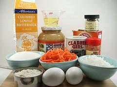 Carrot Coconut Cupcake Fixins'