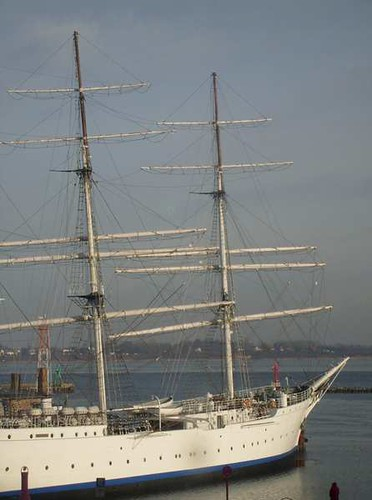 Das Tor zur Welt: hier der Hafen von Stralsund