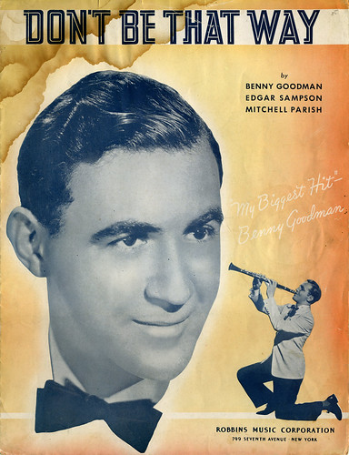Sheet Music; 'My Biggest Hit,' says Goodman.