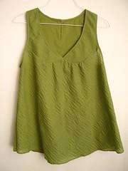 After: Spring Top (kristenaderrick) Tags: thrift thrifty reuse handmedowns redo upcycling wardroberefashion