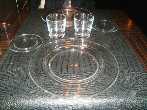 Detalle de presentación de la mesa