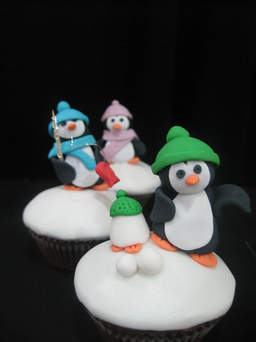 Miss Maires Penguin cupcakes