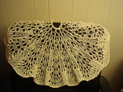e's finished shawl