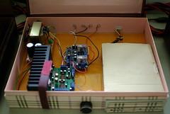 Inside KTZ DIY CD Player (zeng.tw) Tags: diy cdplayer ktz tda7294