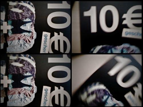 Tom Tailor schenkt 10 Euro - NOT
