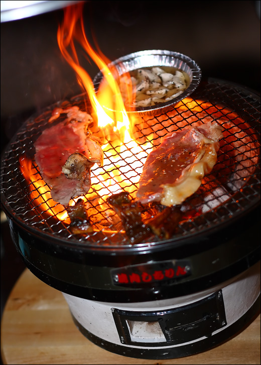 flaming-BBQ-beef