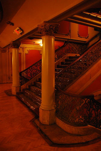 Los Angeles Theatre Intermediate Lounge Stairs