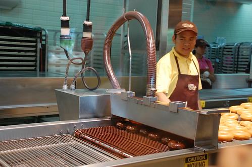Chocolate Glazed Doughnut Krispy Kreme's