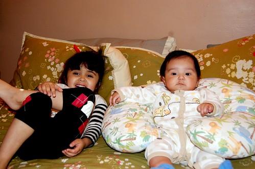 Sophia and Baby Eli