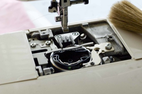 Sewing Machine Clean up :: After