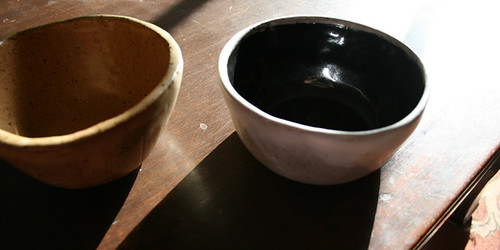 Bowls, side view