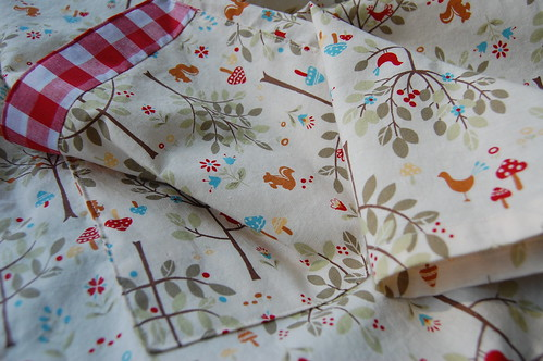 Woodland Creatures Apron for Taune