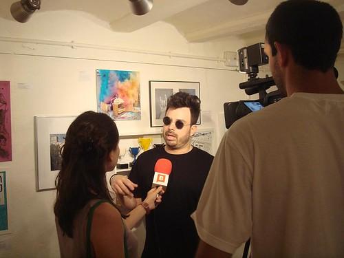 Enrique entrevistado por Btv