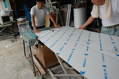 塩ビ透明板什器9