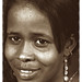Jammilla Beautiful Somali Lady Portrait Philadelphia Studio Sepia Sept 1998 026
