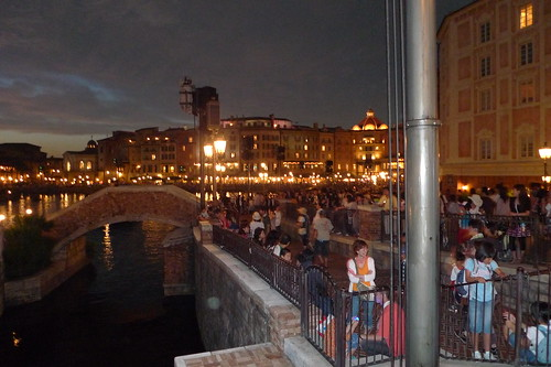 Mediterranean Harbor (Tokyo DisneySea) at night 5