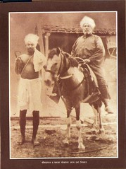 Sri Brahmachaitanya Maharaj on His Steed
