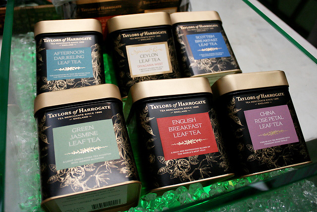 Very nice gourmet teas