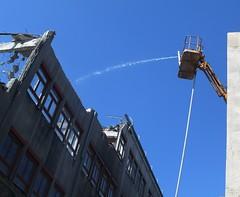 Vienna west, 32 (thedoor4more) Tags: vienna constructionarea austria sterreich demolition baustelle renovation renovierung abriss wienwest