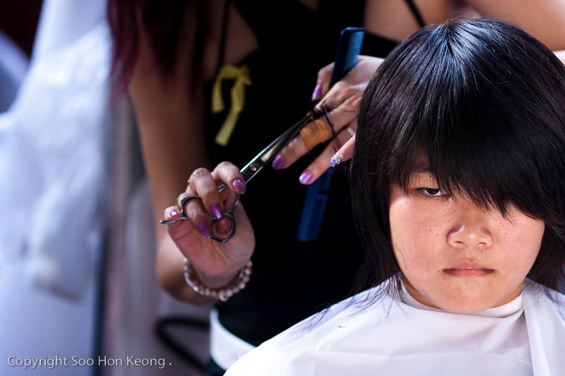 Cut-A-Thon Portrait @ Berjaya Times Square, KL, Malaysia