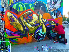MSK by EWOK. Hollywood. (Ironlak) Tags: graffiti ewok hollywood msk rime jerseyjoe ironlak ruets ewso