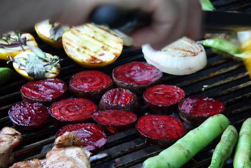 griling beets 2