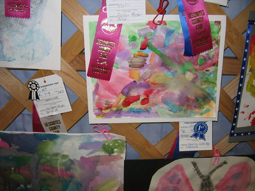 Peelu's Watercolor Art at Fair