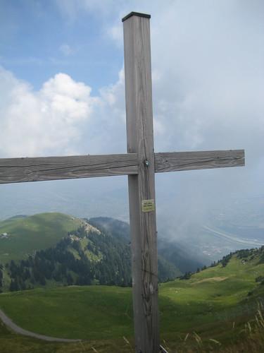Gipfelkreuz auf dem Kamor