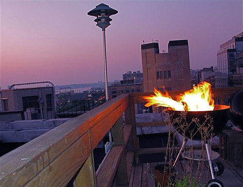 NYC SUMMER NIGHT ROOFTOP BBQ